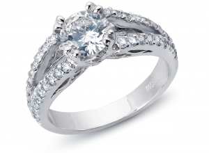 diamond white gold wedding ring fullerton ca - Country Wedding Rings